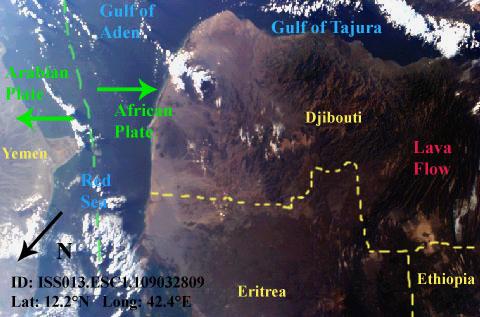 Sally Ride Earthkam Introduction To Plate Tectonics